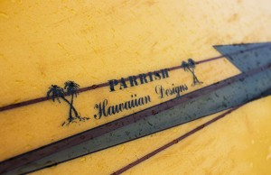 Close Up of Charlie's Waimea Gun