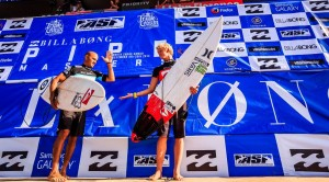 Kelly Slater faced John John Florence in the final.