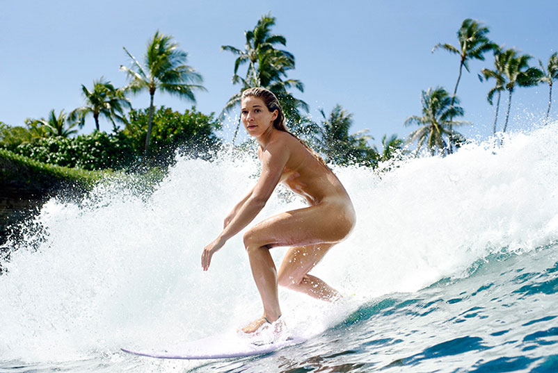 Coco Ho by Morgan Maassen for ESPN's Body Issue