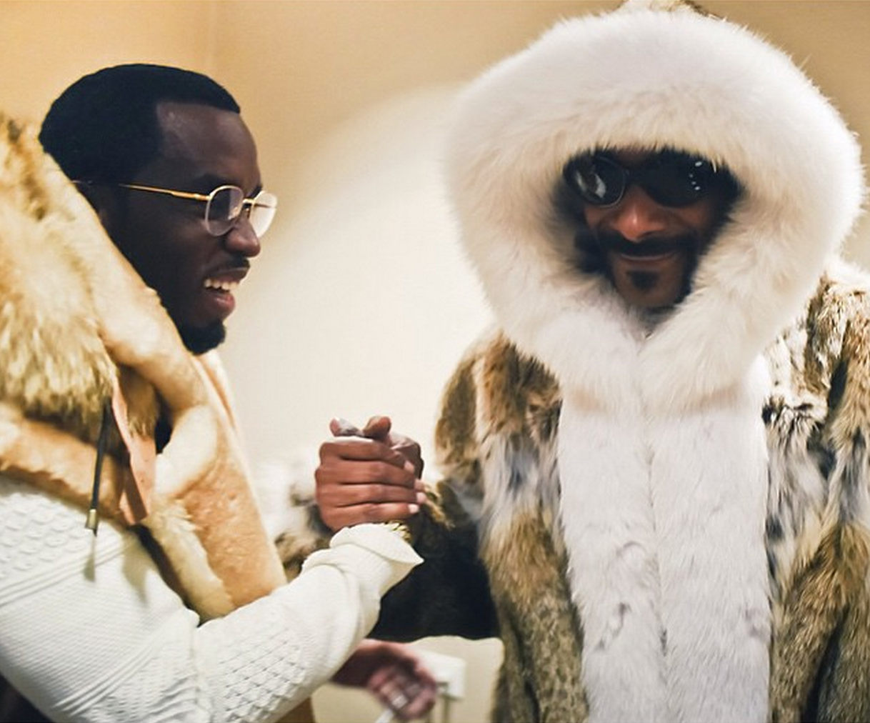 Sean Combs and Snoop