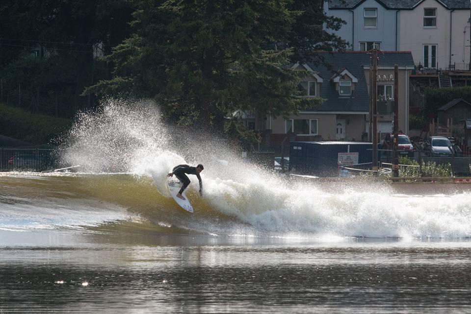 Photo: WaveGarden Surf Snowdonia