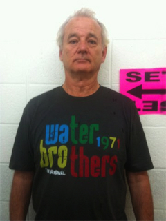 Bill Murray reps Waterbrothers