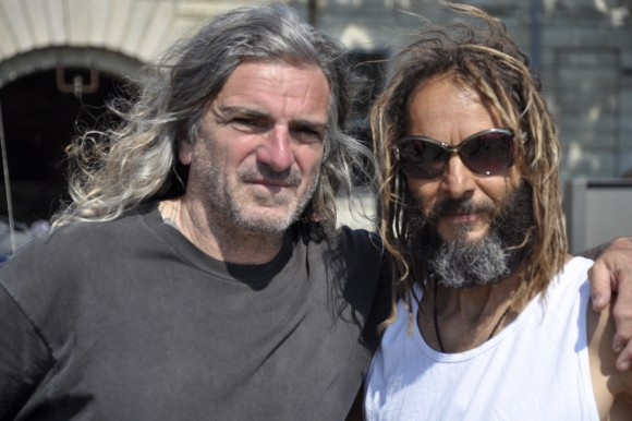 Sid with Tony Alva