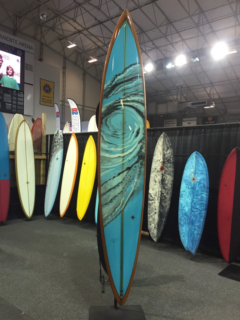 A glorious Wayne Rich on display at The Boardroom Show in Santa Cruz.