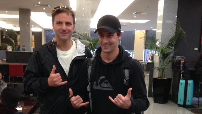 Troy Joyner and Fabio