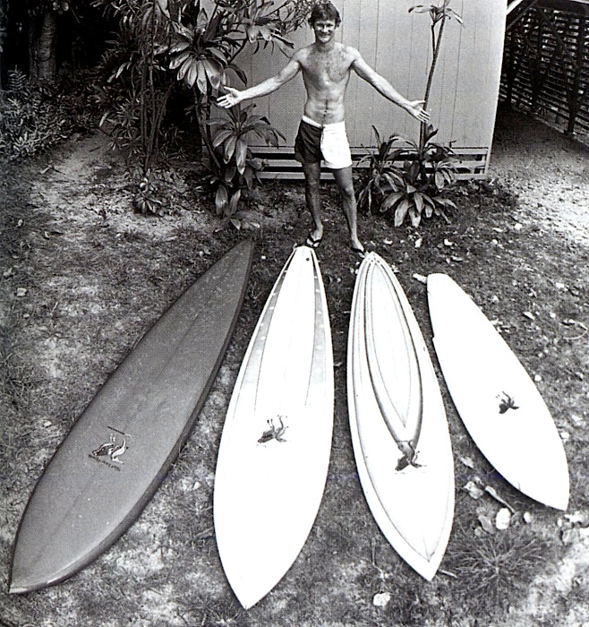 Rarick with his quiver in 1975 by Don James